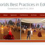 Conferência sobre boas práticas na educação (no SL e OpenSimulator)